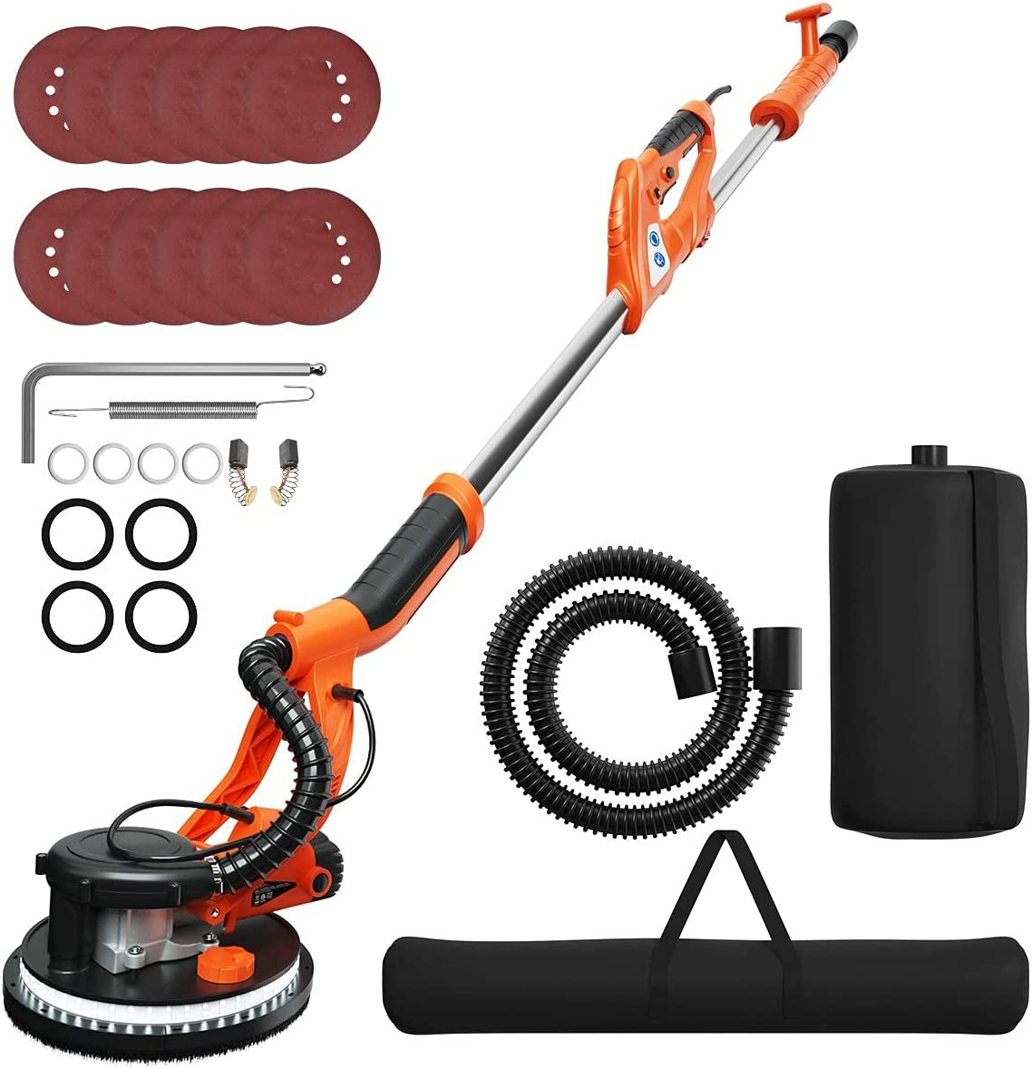 ERGOMASTER 750W Drywall Free shipping New Sander Variable Wall Electric Manufacturer regenerated product Speed San