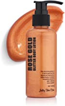 Juicy Skin Care Gold Glitter up! - Rose Gold Glitter Body lotion & Smoothing Lotion. (Rose Gold)