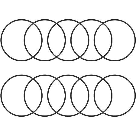 Dichtungsringe 2 mm Sourcing Map O-Ringe aus Nitrilkautschuk