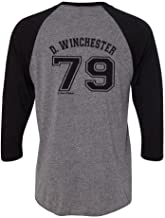 Nani?Wear Supernatural Dean Winchester Jersey with 1967 Imapla