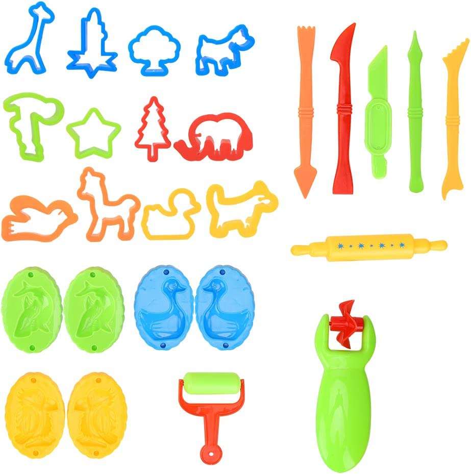 26 Pcs Clay Dough Tools Set specialty shop Mould At the price of surprise Mud Mold Colorful Color P