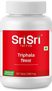 Sri Sri Tattva Ayurveda Triphala Tablet (60Tab) Pack of 2