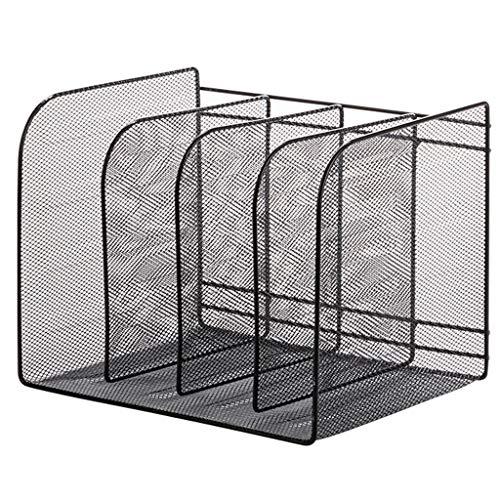 Ablagesystem für den Schreibtisch Rack-Metallfeile Office Desktop Datei-Box Einfache Bürobedarf Vier-Säulen-Datensortierungs Storage Rack hoher Qualität ohne Montage Ordner-Ablagesysteme