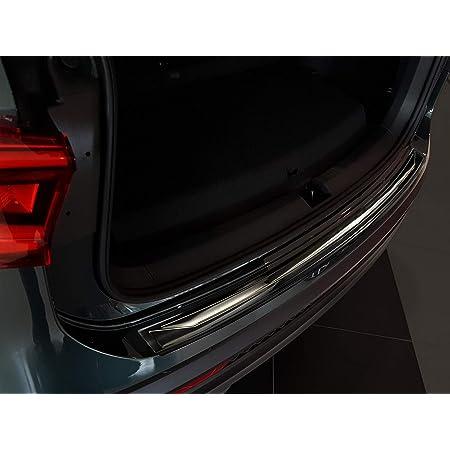 Avisa 2 45196 Ladekantenschutz Fahrzeugspezifische Passform Stoßstangenschutz Mit Abkantung Aus V2a Edelstahl Schwarz Auto