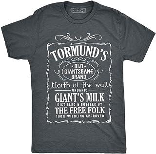 502e0e2f Tormund's Old Giantsbane Brand Giant's Milk T-Shirt Tormund Giantsbane Game  of Thrones Dark Heather
