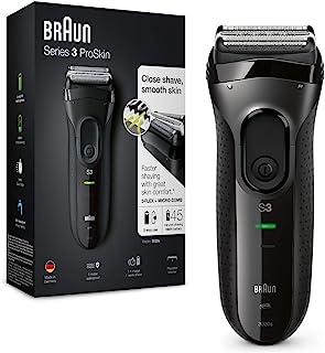 Braun Series 3 ProSkin 3020s Elektrorasierer, wiederaufladbarer Rasierer Herren, schwarz