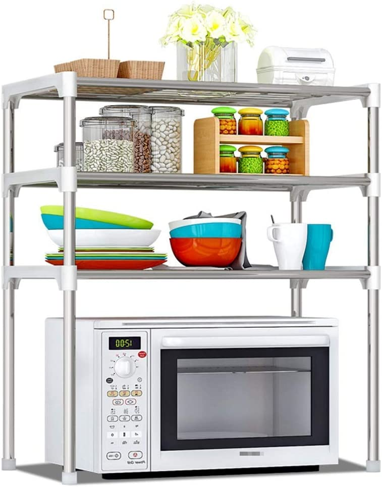 BINGFANG-W Kitchen 3 Limited price sale Tier Oven Rack Sale special price Microwave Ra Storage