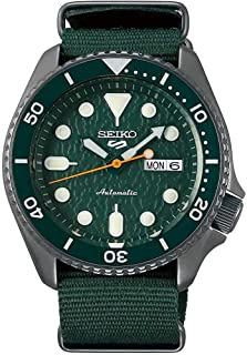 Seiko SRPD77 Seiko 5 Sports Men's Watch Green 42.5mm Stainless Steel