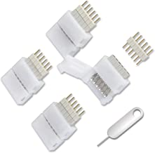 4 Pack for Philips Hue Lightstrip Plus 6-Pin to Cut-End Connector