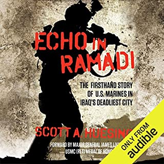 Echo in Ramadi audiobook cover art