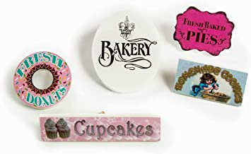 5 Bake Shop Signs fits 18 inch Doll Interchangeable Shop! Five Bakery Signs Include a Sign for Cupcakes, Cookies, Doughnuts, Pies,and Bakery.Designed To Be Compatible With American Girl Doll Furniture