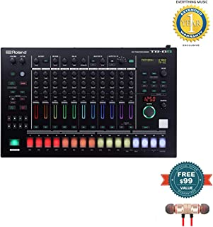 Roland AIRA Rhythm Performer (TR-8S) includes Free Wireless Earbuds - Stereo Bluetooth In-ear and 1 Year Everything Music Extended Warranty