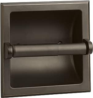 Design House 539254Millbridge Recessed Toilet Paper Holder, Oil Rubbed Bronze Finish, One Size