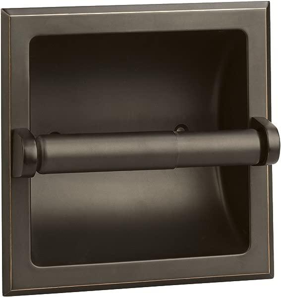Design House 539254 Millbridge Recessed Toilet Paper Holder Oil Rubbed Bronze