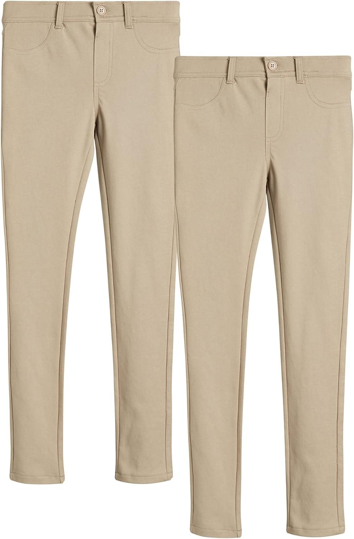 U.S. Polo Assn. Girls' School Uniform Pants Manufacturer regenerated product Ponte 2 - Mesa Mall Stret Pack