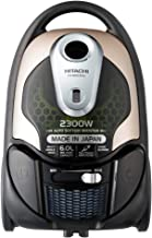 HITACHI Vacuum Cleaner, 6L 2300W,Japan,Hepa & Nano Filter,Champaign Metallic,CV-BD230VJ 220 CM