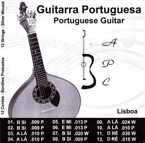 Antonio Carvalho Lisboa - Cuerdas para guitarra portuguesa