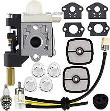 RB-K75 Carburetor with Fuel Maintenance Kit Spark Plug for Echo GT200 GT201i HC150 HC151 PE200 PE201 PPF210 PPF211 SRM210 SRM211 Trimmer/Brushcutter Carburetor for Zama RB-K70A