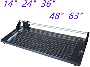US Stock Precision Rotary Paper Cutter Trimmer, Professional Sharp Photo Paper Cutter Heavy Duty (48 inch)