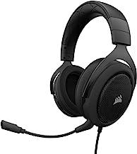 CORSAIR HS50 - Stereo Gaming Headset - Discord Headphones - Carbon (Renewed)
