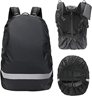 CANAMI Waterproof Backpack Rain Cover,Backpack Rain Cover with Reflective Strap,Upgraded Adjustable Anti Slip Buckle,Ultralight and Durble,for Hiking, Camping, Biking, Outdoor, Tralving