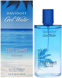 Cool Water Exotic Summer by Davidoff for Men - Eau de Toilette, 125 ml