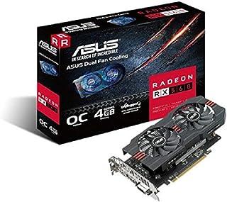 ASUS Radeon RX 560(4GB) Tarjeta gráfica PCI-E HDMI/DisplayPort/DVI