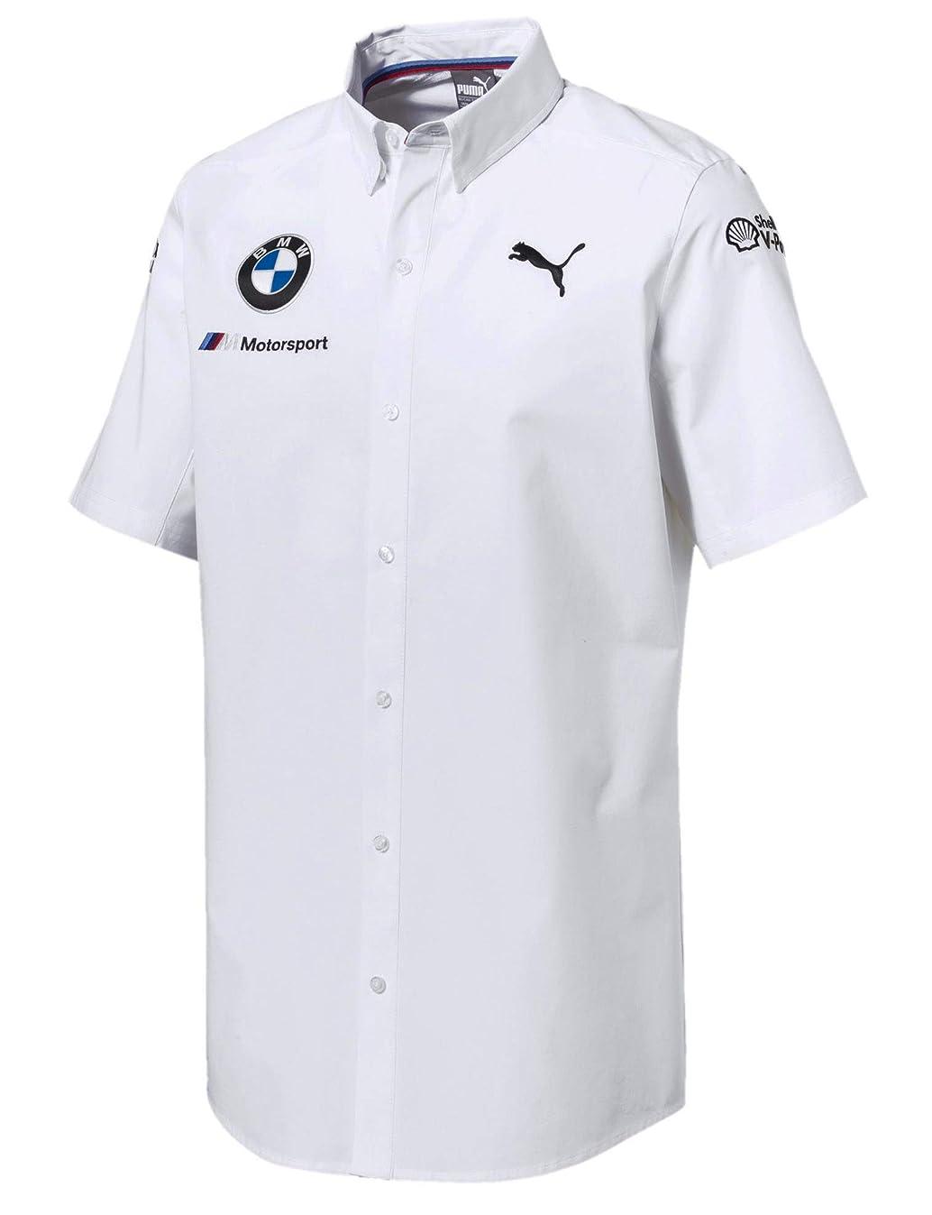 狂ったホームレス持続的[ BMW ] BMW モータースポーツ オフィシャル レプリカ レースシャツ ホワイト