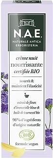 N.A.E. - Crème Nuit Nourrissante Visage - Certifiée Bio - Extrait de Fleurs d'Immortelle Bleue et Huile de Tournesol Bio -...