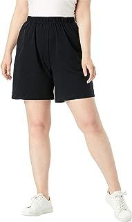 Women's Plus Size Soft Knit Shorts