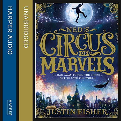 Ned's Circus of Marvels audiobook cover art