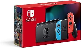 任天堂 Nintendo Switch主机 Joy-Con(L)霓虹蓝/(R)霓虹红