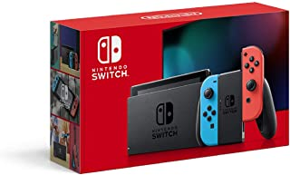 軽量 Nintendo Switch本体(Nintendo Switch)Joy-Con(L)ネオンブルー/(R)..