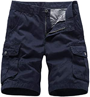 Shorts de Herramientas de Verano 2020 para Hombres Shorts Sueltos de Bolsillo múltiple para Hombres