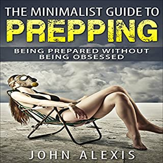 The Minimalist Guide to Prepping audiobook cover art