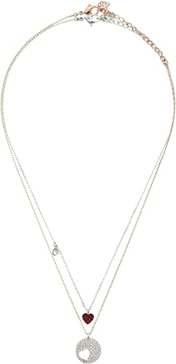 Swarovski - Crystal Wishes Heart Pendant Necklace Set