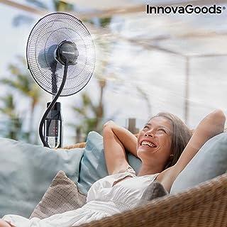 Ventilador Nebulizador de Pie con Mando a Distancia Ø 40 cm 70W