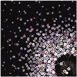 三陽商事 ちりめん散策 丹後ちりめん友仙ふろしき 二巾 桜 23-020101 約68cm幅