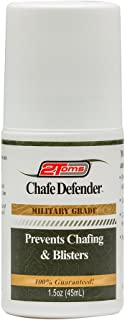2Toms Chafe Defender (Roll-On) - Military Grade 24 Hour Chafing & Blister Protection - Waterproof & Sweatproof (1.5 Ounce)