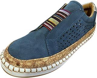 Minetom Mocassins Femmes Casuel Confort Slip on Chaussures de Conduite Plates Sneaker Respirant Antidérapant Loafers