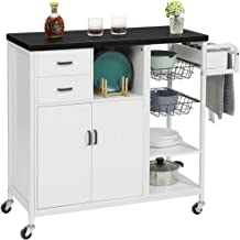 Amazon Com Kitchen Island Under 300 Dollars With Cabinet And Drawers