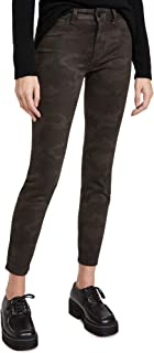 DL1961 Women's Florence Ankle Coated Mid Rise Skinny Jeans