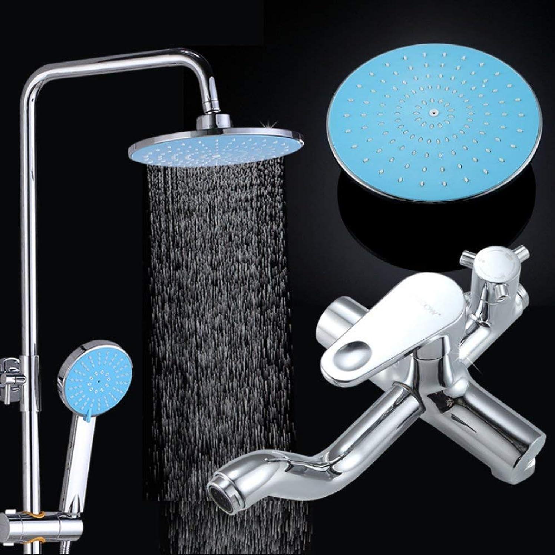 Badezimmer Dusche, alle bronze Bad Kuppel Verdickung der dritte Gang Dusche Systeme einzurichten, Feste, kann nach oben und unten eingestellt werden, rotierende Duschkopf