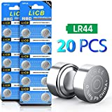 LiCB 20 Pack LR44 AG13 357 303 SR44 Battery 1.5V Button Coin Cell