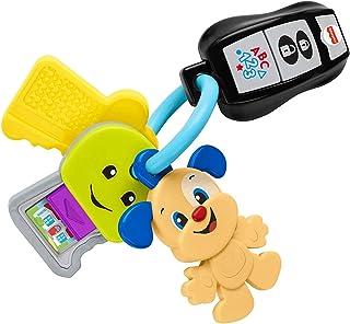 Fisher-Price Laugh & Learn Play & Go Keys, juguete de aprendizaje musical para bebés y niños de 6 a 36 meses