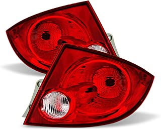 ACANII - For 2005-2010 Chevy Cobalt 4-Door Sedan Pontiac G5 Tail Lights Brake Lamps Replacement Driver & Passenger Side
