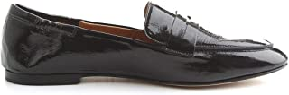 POMME D'OR Luxury Fashion Womens 1942NERO Black Loafers | Fall Winter 19