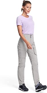 Gonex Women's Stretch Quick-Drying Convertible Hiking Pants, Super Lightweight
