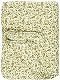 IB Laursen - Tagesdecke, Bettüberwurf, Quilt - Baumwolle - Hellgelb mit Blumen - 180 x 130 cm 0724-00