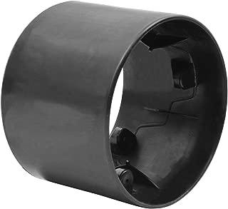 Bike Rassine Polypropylene Replacement Slick Rear Wheel for Drift Trikes, Black
